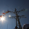 富山の掃海艇 自衛艦