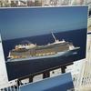 QUANTUM OF THE SEASは世界最大級豪華客船なので、一目では把握しきれない