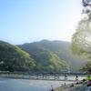 よく晴れた5月の午後、新緑の嵐山&広沢の池でゆるっとリラックス!