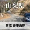 【動画】山梨県 林道 鈴庫山線(工事中でUターン)【4K 60fps】