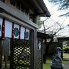 大連神社の桜と梅... からの