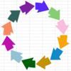 VBA 環状矢印を複数個つなげてリング状にするマクロ