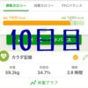 ずぼらダイエット!10日目