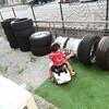 タイヤ手組み!単管パイプ自作ビードブレーカー紹介とタイヤの外し方説明!
