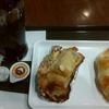 サンマルクカフェ「ダマンドチョコクロ」「ハムチーズクロワッサン」「アイスコーヒー」