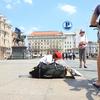 ダイスケさんが座った場所観光地計画@クロアチア