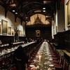 ケンブリッジ大学St John's collegeのFormal hallでformal dinner