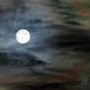 嵐の後の満月