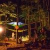【森ジャムin下川町】朝から晩まで森の中。森ジャムスラックライン。
