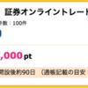 【ハピタス】ライブスター証券 口座開設で1,000pt(1,000円)! 取引不要!