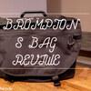 【BROMPTON×レビュー】ちょっと荷物の多い自分にS-BAGがちょうどイイ!!