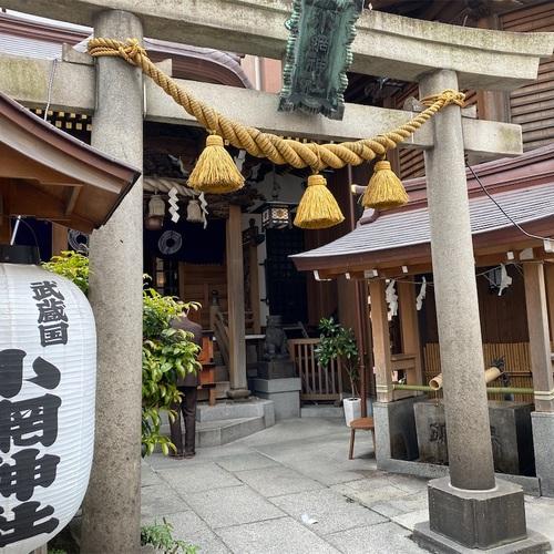 強運御守で有名な日本橋の小網神社