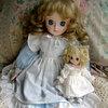 3回目風邪を引く*旦那が仕事中に捨てたい*大好きな人形のこと綿の国星チビ猫ビスクドール