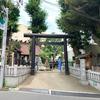 高円寺駅近くの高円寺氷川神社と「天気の子」聖地の気象神社
