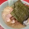 味噌ネギチャーシュー麺 - 山岡屋吹上店。