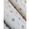 着物生地(330)井桁織り出し手織り真綿紬