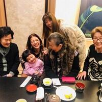 【スザンヌの妹マーガリンの子育てin熊本】おばあちゃんのお誕生日会in青柳 本丸御前で400年前にタイムスリップ♡