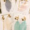 【新商品】羽根飾りのピアス