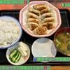 🚩外食日記(591)    宮崎ランチ   「手づくりギョーザ八味屋(はちみや)」②より、【焼きギョーザ定食(大)】‼️