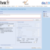 rRNA配列を探索し、分類、ツリー表示するSILVAのACTサービス