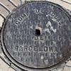 バルセロナのマンホールの蓋(2)