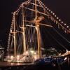 長崎帆船まつり開催!!ライトアップに圧巻😂