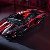 ヨウジヤマモトとランボルギーニがコラボ、赤と黒で彩った「アヴェンタドール S」を発表!