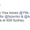【FaZe】IEM Sydney第一試合にてVisaの問題によりNikoとAdreNに代わりYNkとUSTILOがスタンドイン