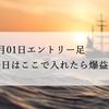 5月1日エントリー足【爆益】