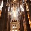 サグラダファミリア(バルセロナ)②内観編:〜優しく包み込むstained glassの幻想美〜