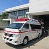 4年生:消防署見学② 救急車・消防車、消防署内を見学