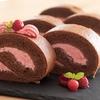 ラズベリーショコラロールケーキの作り方