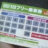 北九州市公共交通1日フリー乗車券