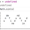 jsでundefinedな変数をMath.sin()に渡すと・・・