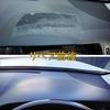 レクサスLS460のダッシュボード張り付き跡の補修塗装のご注文です!