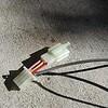 車速検知配線、スピーカ・マイク配線の敷設