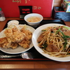 初めて食べたレバニラ丼はヘルシーだが結果食べすぎだった件 @誉田 王府