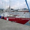 引田(ひきた)港にやってきました。瀬戸内海に入る