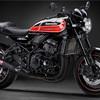 【Z900RS】ラジエーターサイドカバーを黒塗装してみた。