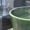 炭酸壺風呂と冷たい源泉、勢いのある打たせ湯、死海泥パックもあるよ、ユーバス守口