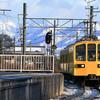 近江鉄道 雪の記録(2020-21) <2> 12/20-Ⅰ 様々な雪