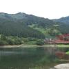 金砂湖は柳瀬ダムがつくった人造湖