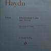 ハイドンのピアノソナタ50番の楽譜を見てみる。