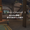 【World of Warcraft】Boralusのおすすめカフェを紹介
