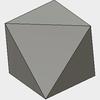 Fusion360で正八面体をモデリングする