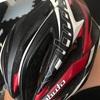 傷の話と私を守ってくれたヘルメットの話