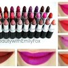 MAC Lipstick Collection + Lip Swatches || Beauty with Emily Fox