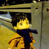 【ロシア】ユーリ聖地巡礼の旅06(カツ丼ピロシキをもらう歩道)