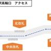 【アクセス】JR品川駅高輪口への行き方