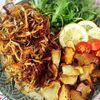 新ごぼうのパリパリ揚げ と菊芋チップス